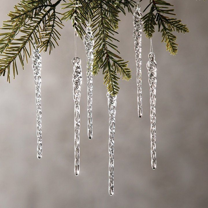 Christmas Decorations Icicle Ornaments: 9 Best Images About Just Planning Ahead (holiday Goals) On