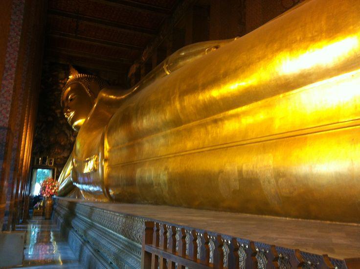 Il #Buddha sdraiato #Bangkok #AroundAsia