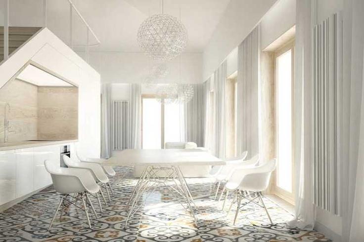 Cad Terma 2012 winner, #home #project by  Karol Ciepliński,  project with sherwood #radiator by #Terma