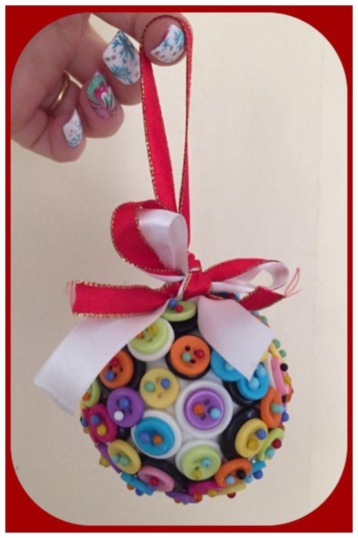 Button Christmas Decoration