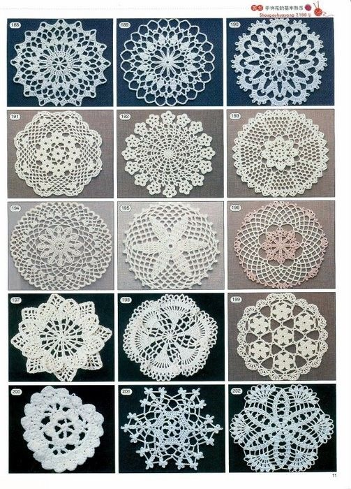 Free doilies crochet patterns