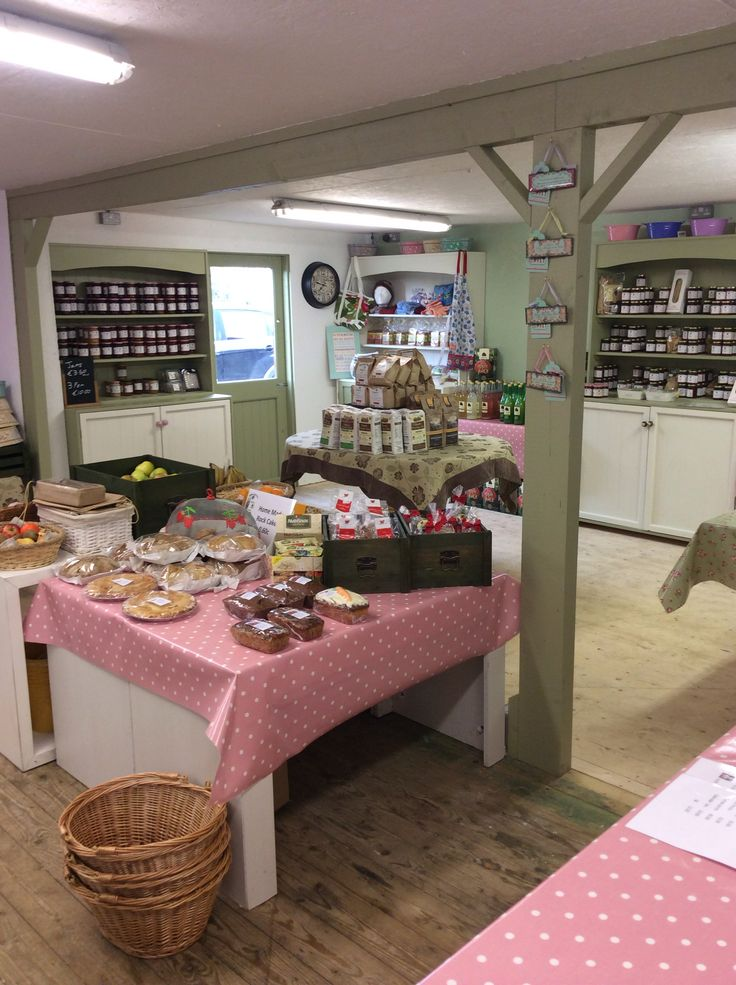 Our new and improved farm shop