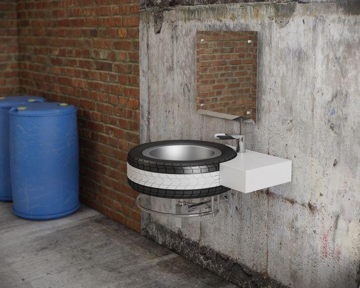 QS Supplies Mac Wheel Basin With Bottle Trap #Bathroom #Basins