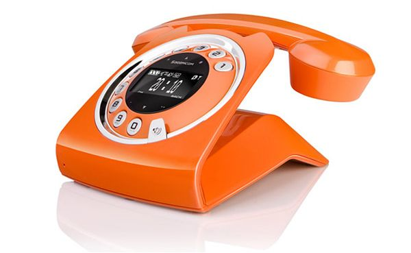 Vintage Inspired Wireless Home Phone » Design You Trust – Design Blog and Community