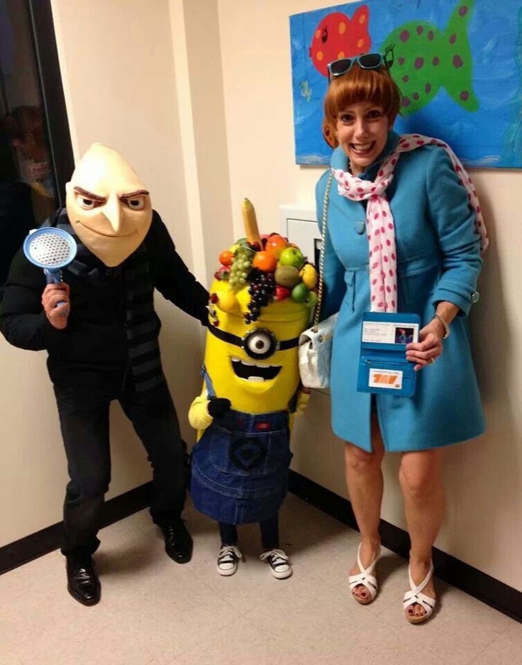 Despicable Me 2 Family Halloween Costume