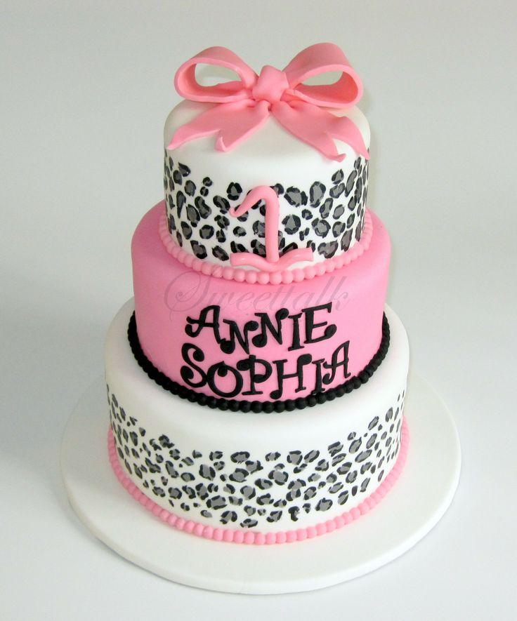 Cheetah Print St Birthday Cakes