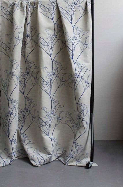 Cow Parsley Curtains 5 colours Custom Curtains by OOMFinteriors