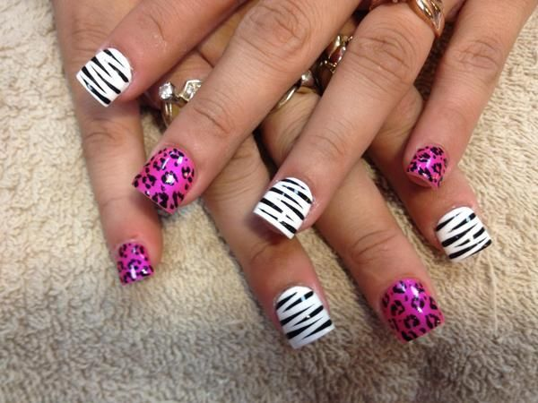 The 25 best cheetah nail designs ideas on pinterest feather 50 cheetah nail designs prinsesfo Image collections
