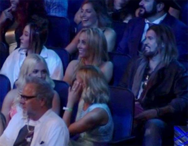 Miley Cyrus: Her Mom & Dad's Shocked Reaction To Nicki Minaj's VMA Diss —Watch