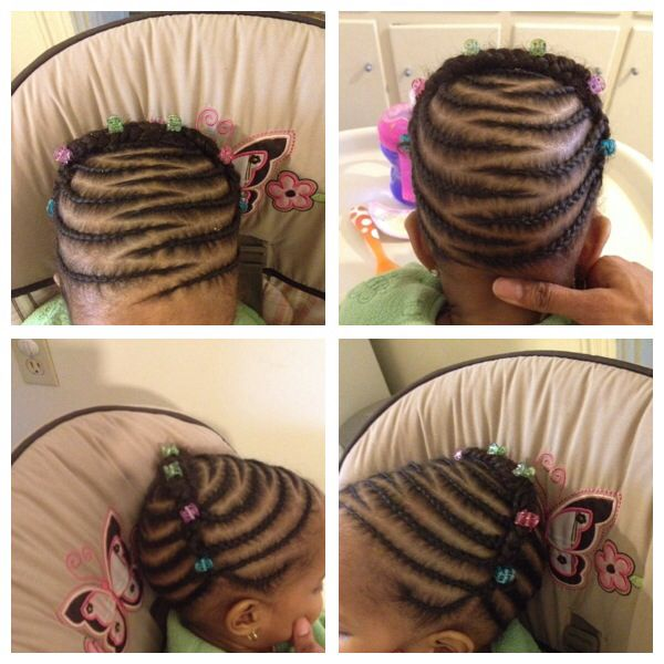 Toddler Braids Styles Chunks Protective Styles