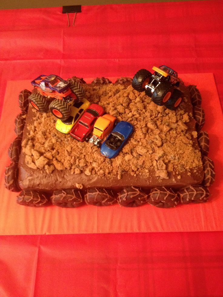Pictures Of Monster Truck Cakes