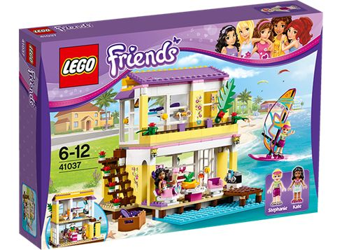 LEGO FRIENDS 41037 Stephanies strandhus