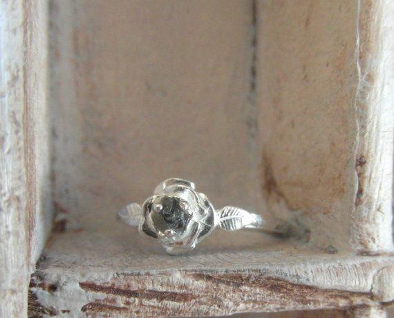 bague de diamants bruts promesse par EnzoLuccati sur Etsy