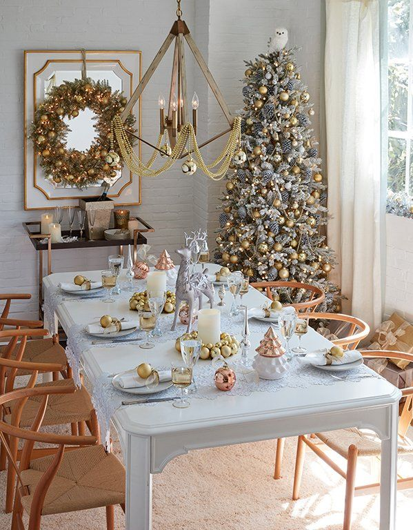 Holiday Ideas For Living Rooms Glamourous Dining Room Holiday Decor Table Top Decor