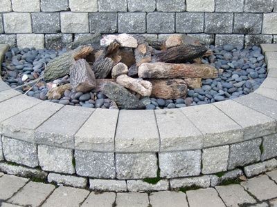 Garden Structures - How to Build a Cinder Block Fire Pit from http://www.ehow.com/how_6028265_build-cinder-block-fire-pit.html