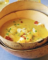 Goan Curried-Fish Stew Recipe on Food & Wine  for dinner tonight -- substituting tilapia for sole fillets