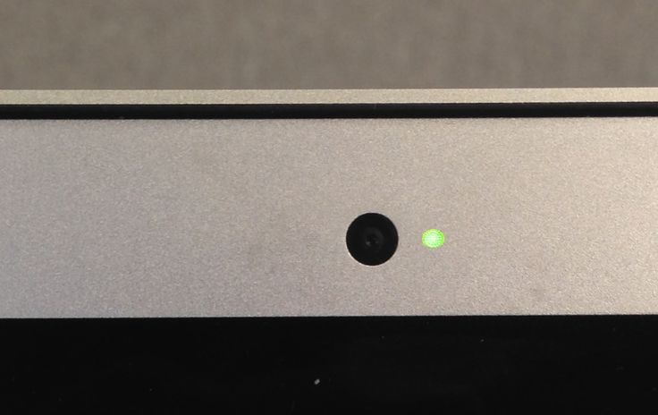Just because the green light isn't on doesn't mean the webcam isn't.