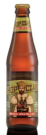 BRIDGEPORT - Hop Czar.  Tripple hopped bottle conditioned IPA.  Full of malt and hoppyness.  For me it was OK.  Not bad, but I prefer Stone, Leafer Madness, Simtra etc.  It has deep malt flavor, where as I prefer less malt.