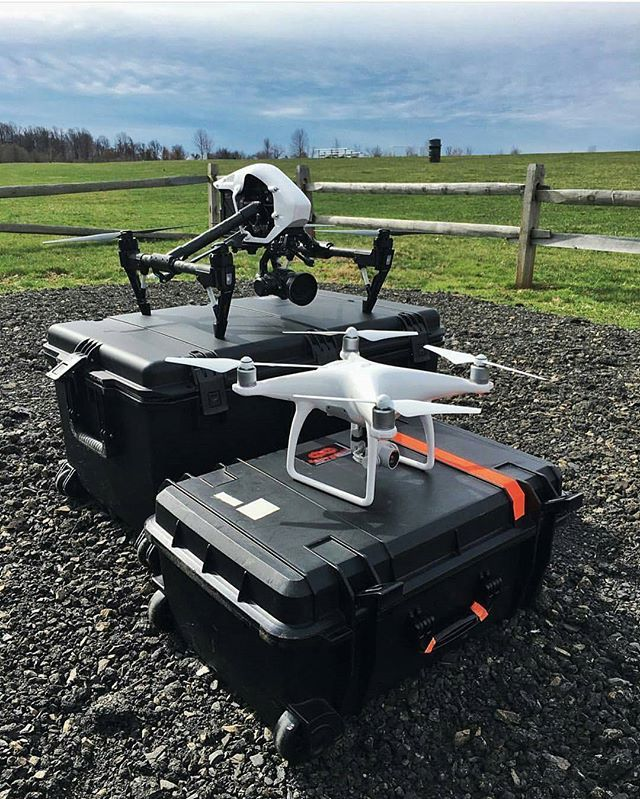 Old Skool meets the new kid on the drone block. DJI Inspire 1 & the new DJI Phantom 4 Photo by @dronespace  #gearbest #drone #drones #dronelife #fromwhereidrone #aerialview #dronesdaily #dji #quadcopter #aerialphotography #aerial #dronestagram #dronesareg