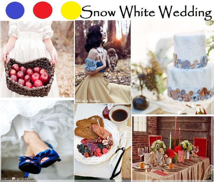 Snow Wedding Ideas: 11 Best Disney Princess Inspired Weddings Images On