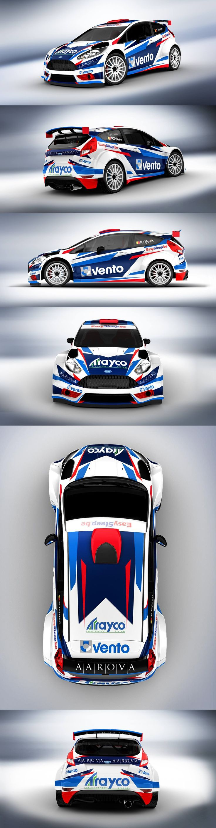 Car sticker design pinterest - Ford Fiesta Racing Livery We Collect And Generate Ideas Ufx Dk