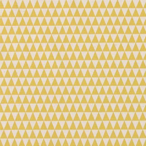 Bomull ubleket/karry trekanter