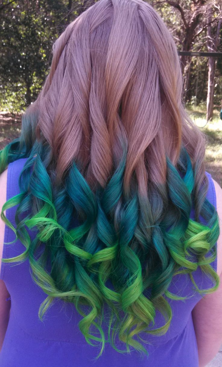ombre obsessions and dip-dye
