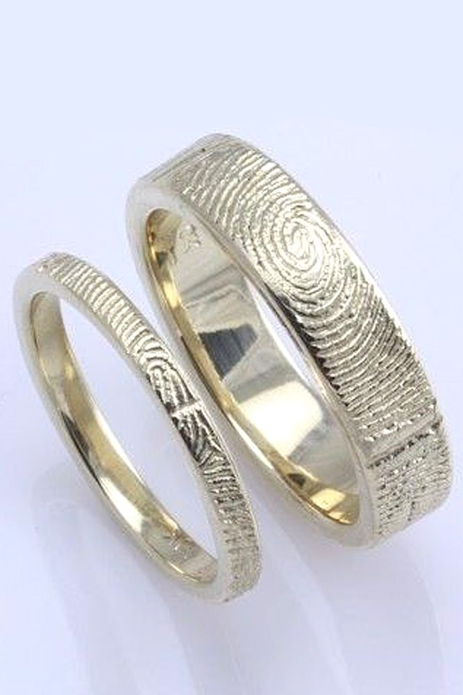 27 mens wedding bands and engagement rings - Unique Wedding Ring Sets For Him And Her