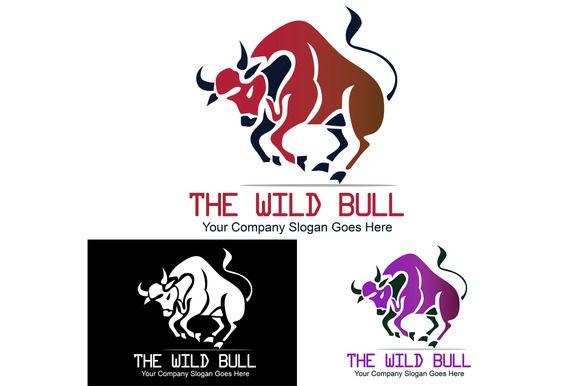 The Wild Bull Logo by Multiplexer on Creative Market