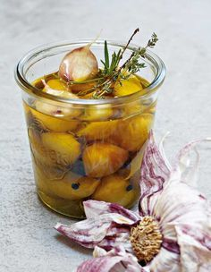 Garlic Confit Recipe   Alain Ducasse (These sweetly fragrant cloves of garlic are  mild, versatile, and irresistible. Same goes for the garlic-infused oil.)