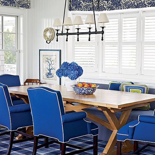 Americana on the Jersey Shore  Coastal Dining RoomsBlue Dining RoomsDining  Room ChairsNew  315 best Beach   kitchen images on Pinterest   Chairs  Kitchen and  . Dining Room Chairs In New Jersey. Home Design Ideas