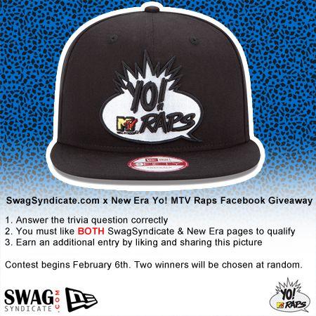 SwagSyndicate x New Era Yo! MTV Raps Contest Day 1 e2f54264a836