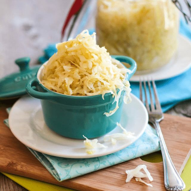 Homemade Sauerkraut is surprisingly easy to make. Check out these step-by-step instructions, complete with pictures and list of required material.