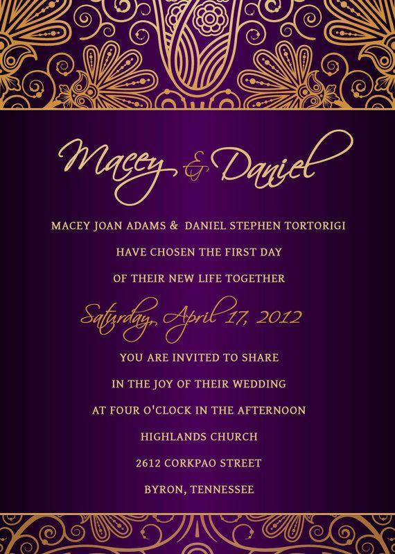 45 best Wedding Invites images on Pinterest