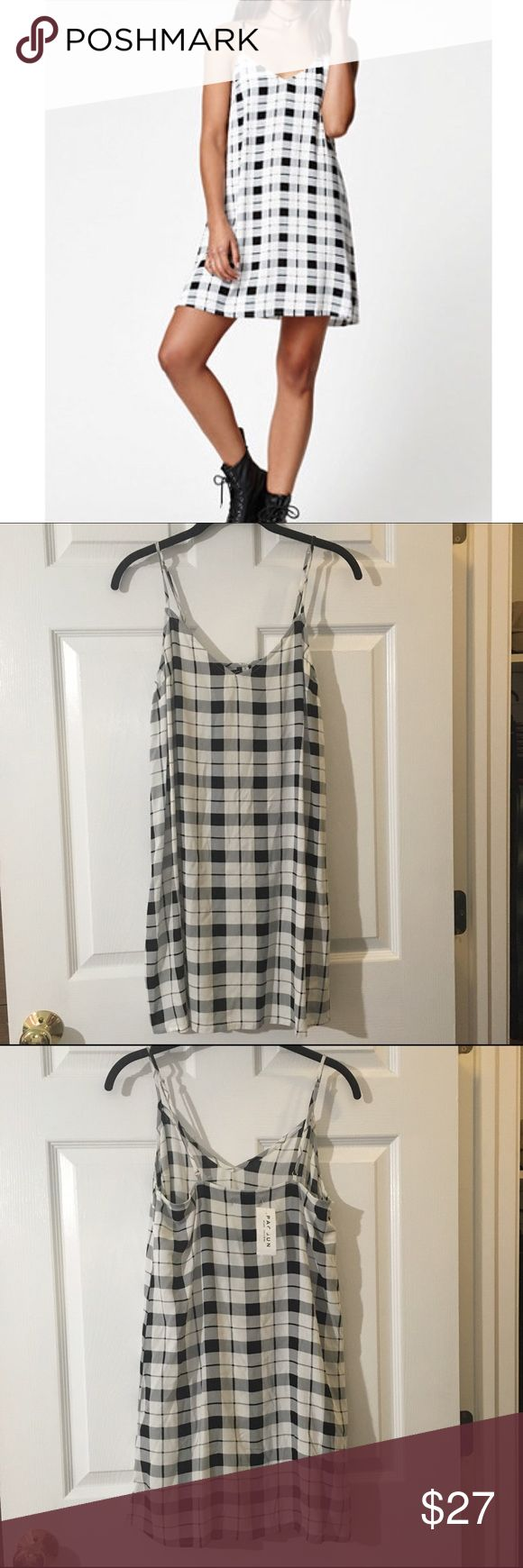 Selling this ✨NWT✨ Kendall and Kylie Checkered Dress on Poshmark! My username is: lceee. #shopmycloset #poshmark #fashion #shopping #style #forsale #PacSun #Dresses & Skirts