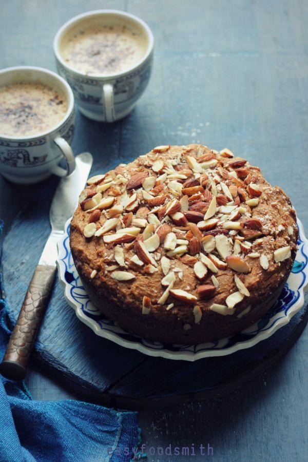 Whole Meal Jaggery Cake