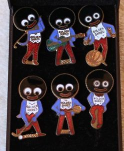 Robertson's golliwog brooches