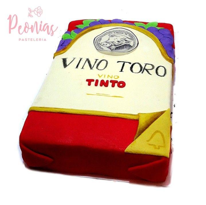 Vino Toro Torta Tortas De Vino Cajas Para Tortas Tortas