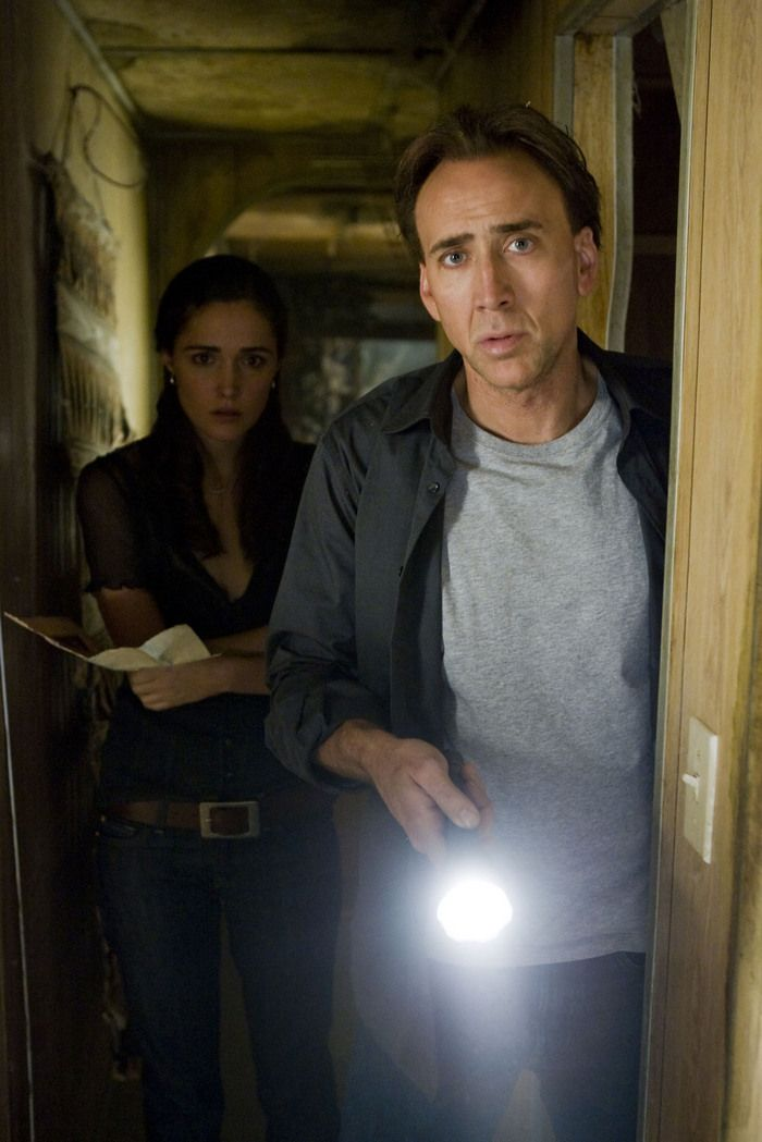 Nicolas Cage and Rose Byrne in Knowing - the movie