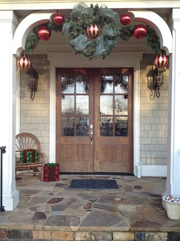 56 amazing front porch christmas decorating ideas front