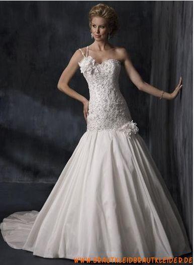 Wunderschöne Brautkleider im Meerjungfrauenstil mit Applikation 2012