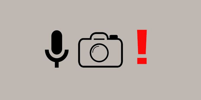 Get An Alert When Your Camera Or Mic Is In Use [Android]
