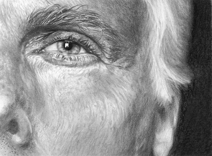 Portrait Studies . Giorgio Armani . Pencil on paper A4