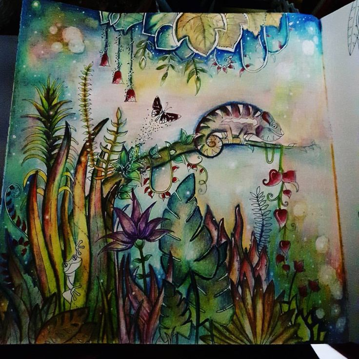 Inspirational Coloring Pages By Wani Omar Magicaljungle Johannabasford