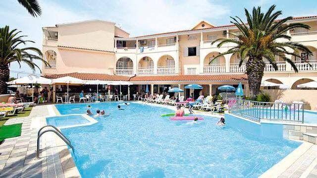 A Hotel in Kavos Corfu Greece