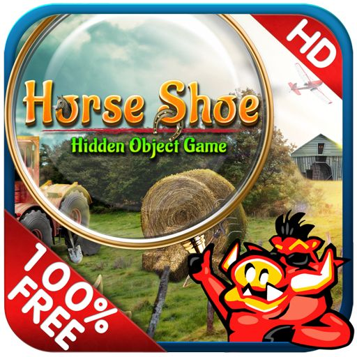 New Hidden Object Game - Horse Shoe - Find 400 new hidden objects in this free hidden object game