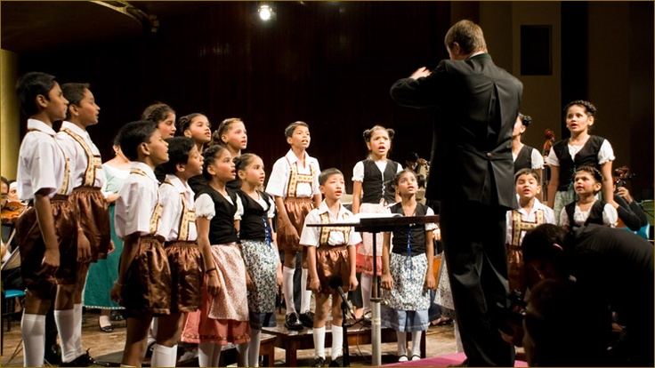 Touching documentary of several children plucked from the slums of Mumbai to perform in The Sound of Music