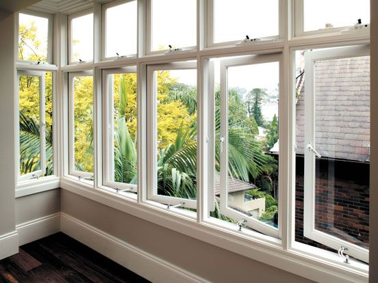 timber casement window from stegbar