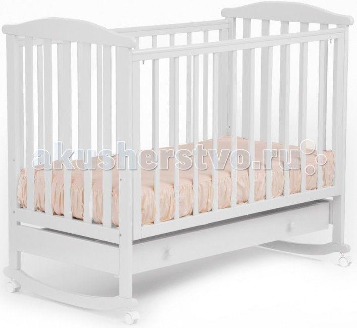 Детская кроватка Кубаньлесстрой АБ 15.1 Лютик качалка с ящиком  Детская кроватка Кубаньлесстрой АБ 15.1 Лютик качалка с ящиком - простая и функциональная. Конструкция кроватки выполнена из натурального дерева - массива бука. Древесина бука - идеальный материал для детской мебели, экологически чистый, не боящийся влаги и долговечный, а на покрытие идут только нетоксичные краски и лаки. К тому же природный цвет дерева оказывает благотворное, успокаивающее воздействие на человеческую психику…