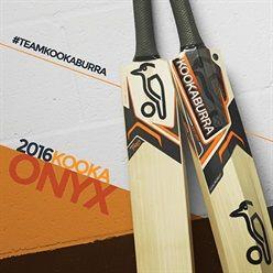 Kookaburra Onyx Cricket Bats 2016.